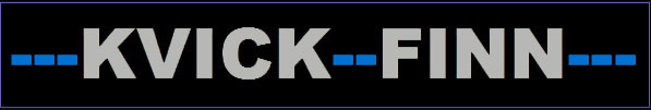 KVICK-FINN logo