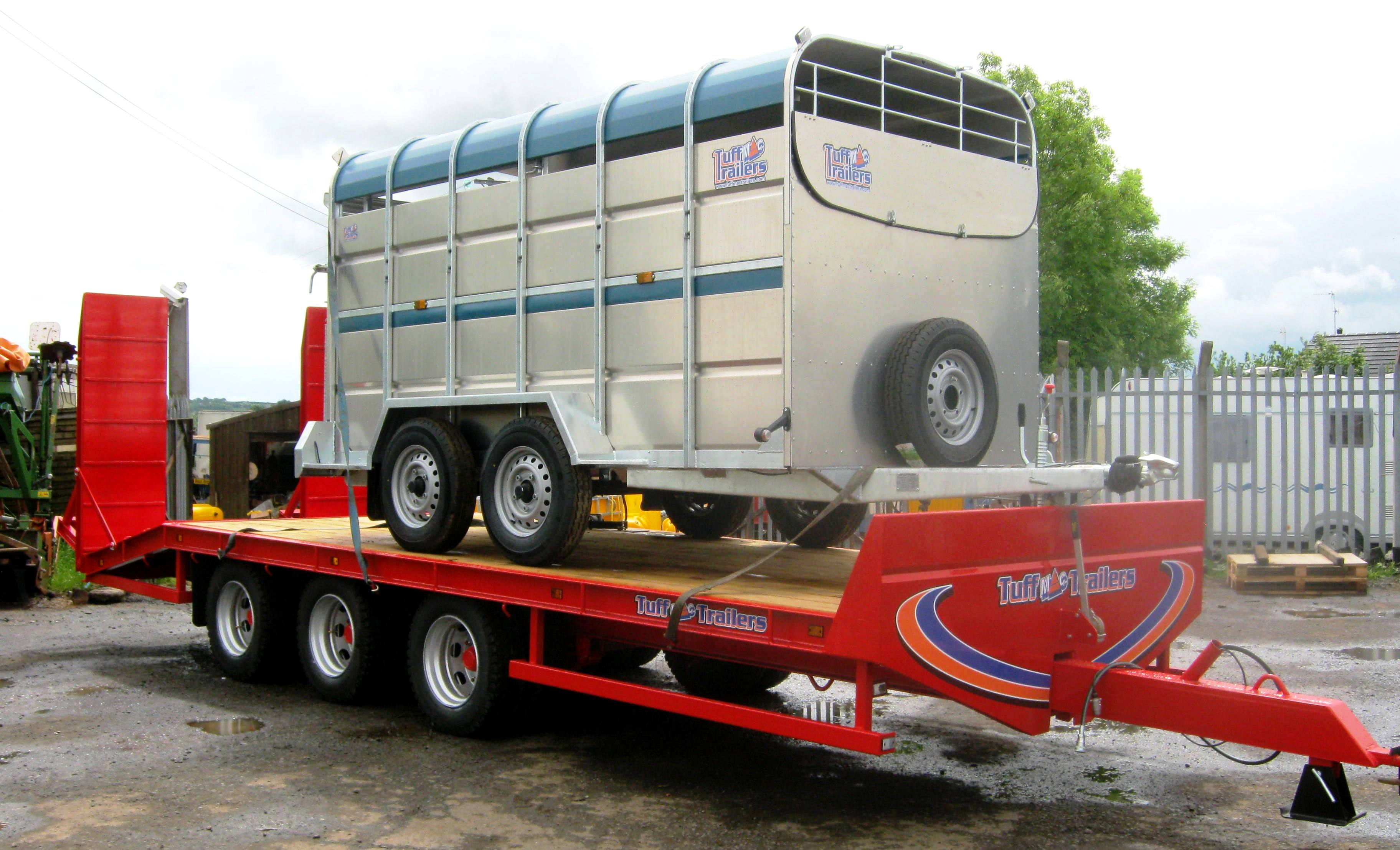 Tr Axle Low Loader
